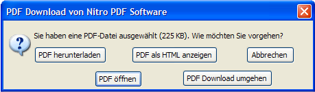PDF Download - Download-Dialog